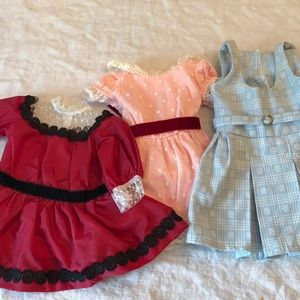 American Girl historic outfits